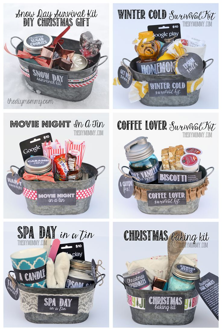 Cute Christmas Gift Ideas For Mom.Christmas Gift Wrapping A Whole Bunch Of Gift Basket Ideas