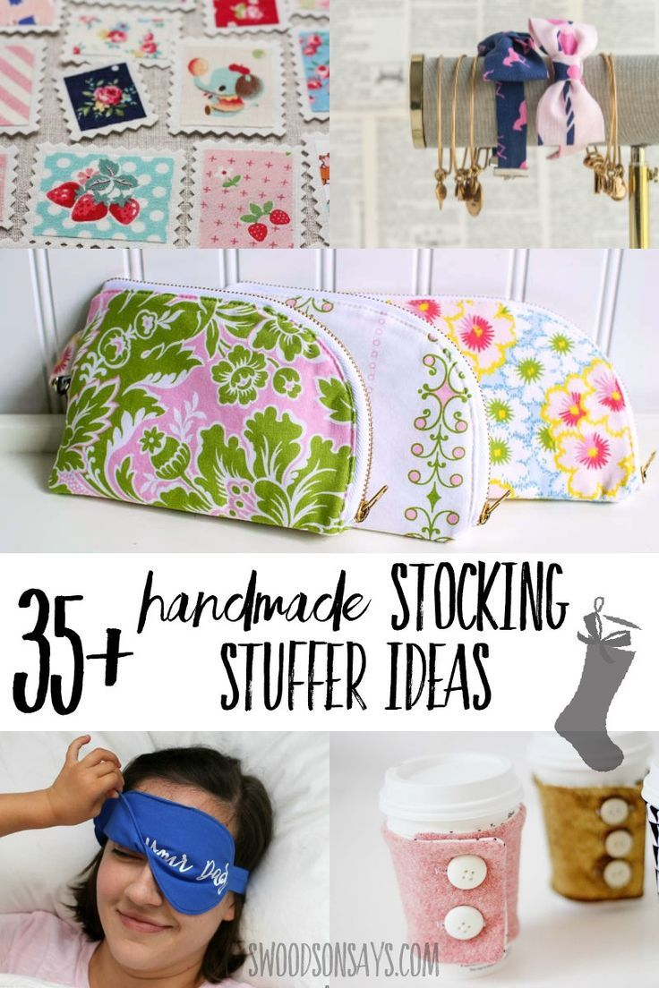 Christmas Crafts 35 Handmade Stocking Stuffer Ideas To Sew Ask