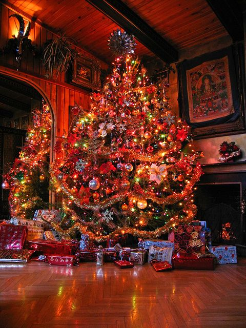 cristhmas tree decorations ideas colors of christmas. Black Bedroom Furniture Sets. Home Design Ideas