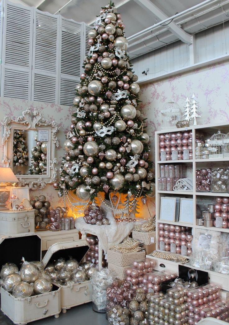 Cristhmas Tree Decorations Ideas Romantic Christmas Tree Theme