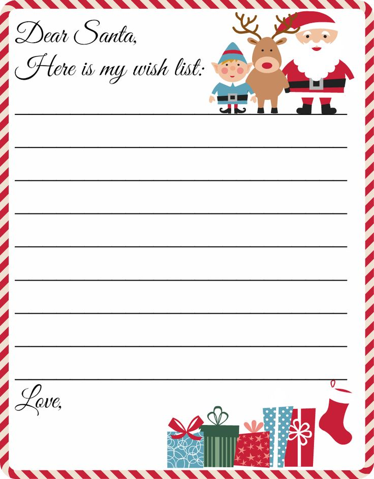 image regarding Merry Christmas Letters Printable identify Merry Xmas Wants : No cost Printable Letter in the direction of Santa