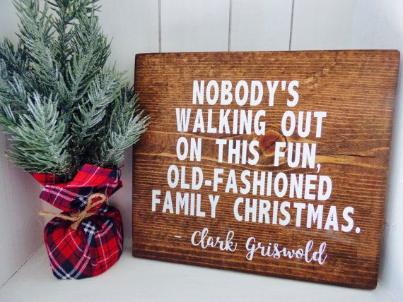 Christmas Vacation Quotes.Merry Christmas Quotes Christmas Vacation Wood Sign