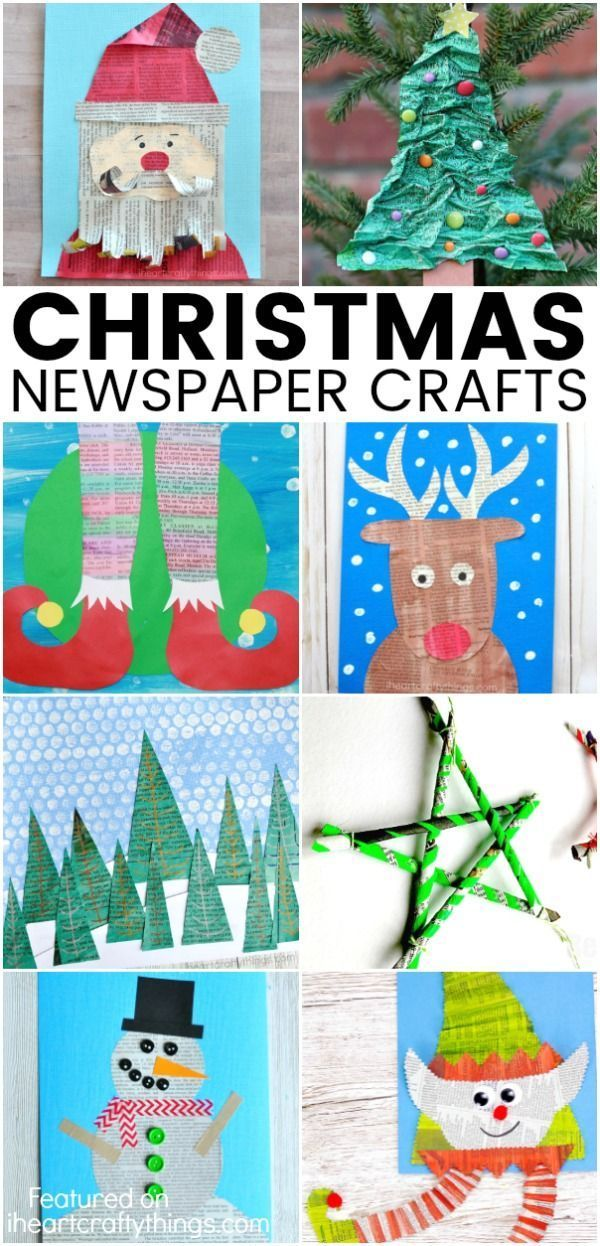 Christmas Crafts Christmas Newspaper Craft Ideas Ask Christmas
