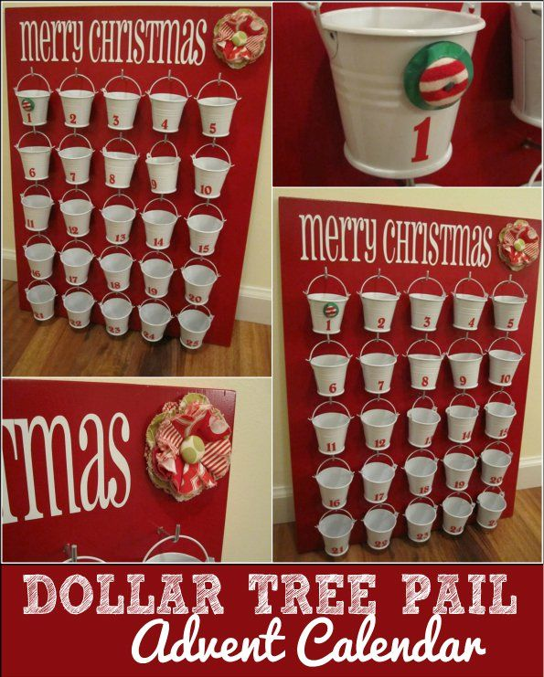 Christmas Crafts Dollar Store Advent Calendar Ask Christmas