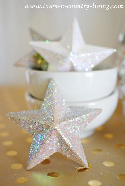 Christmas Decor Ideas Paper Mache Christmas Star Ornaments Ask