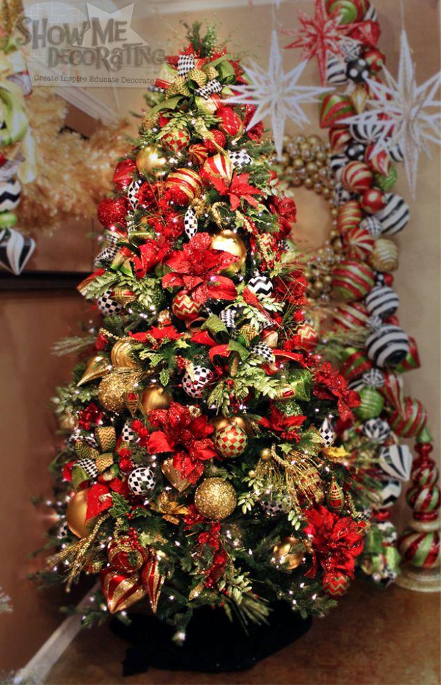 Cristhmas Tree Decorations Ideas Christmas Sparkle Christmas Tree