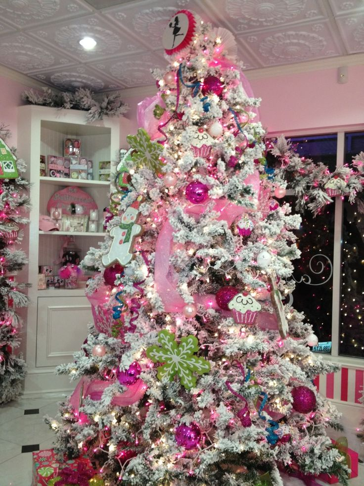 Candy Christmas Tree Decorations.Cristhmas Tree Decorations Ideas Cupcake Shop Christmas