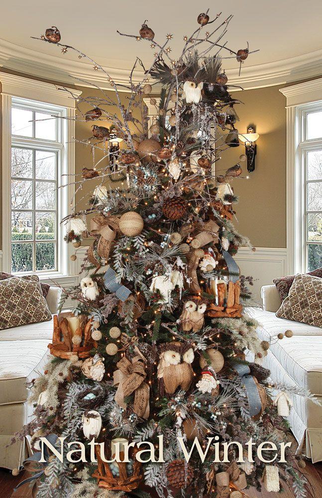 Natural Christmas Tree Decorations.Cristhmas Tree Decorations Ideas Melrose Designer