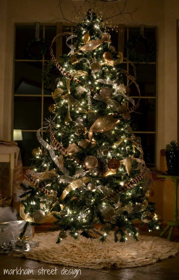 Cristhmas Tree Decorations Ideas New Spirit With Rustic Christmas