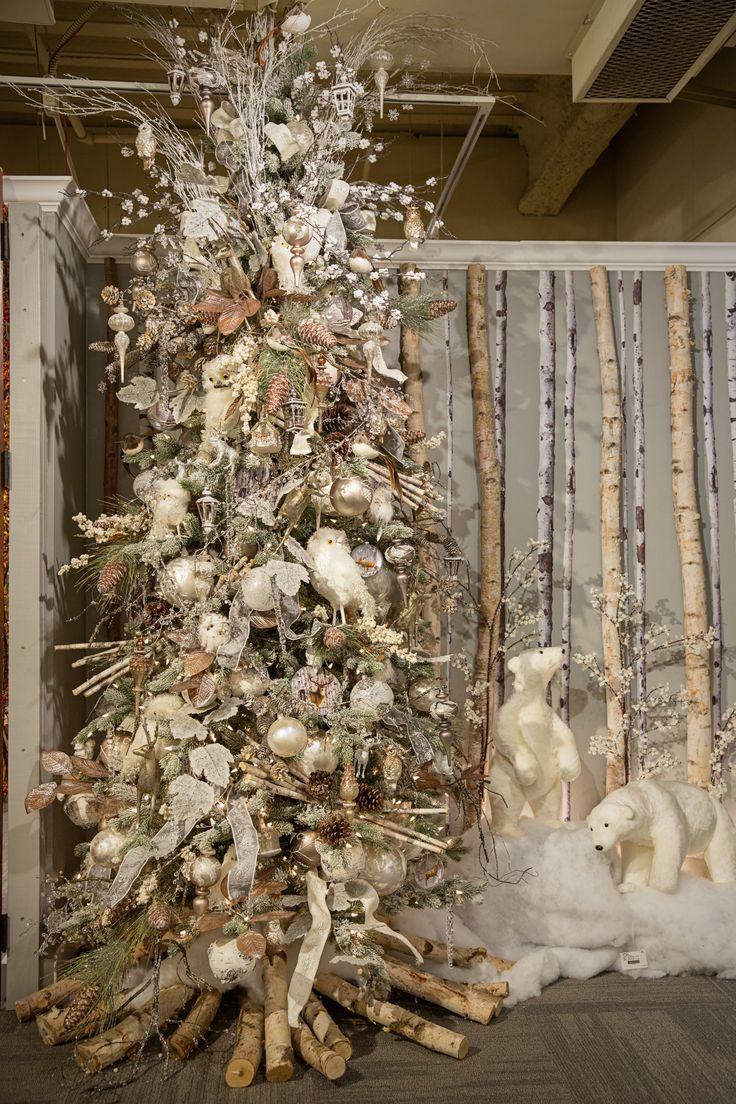 Woodland Christmas Decorations.Cristhmas Tree Decorations Ideas Winter Woodlands