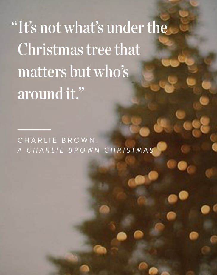 Charlie Brown Christmas Tree Quote.Merry Christmas Quotes 10 Holiday Hints To Save Your