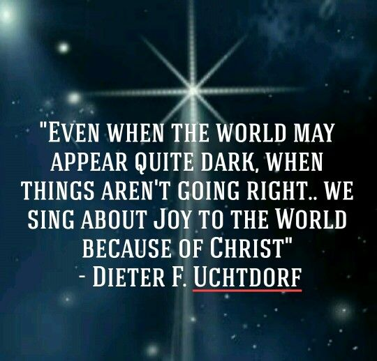Lds Christmas Quotes.Merry Christmas Quotes Dieter F Uchtdorf Lds Christmas
