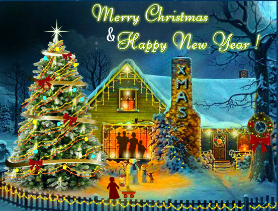 Christmas Candles on Cards – Download Images to Wish your friends