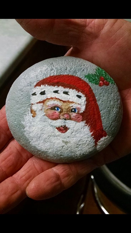 Christmas Rock Painting Designs.Christmas Diy 15 Fantastic Diy Easy Rock Painting Ideas