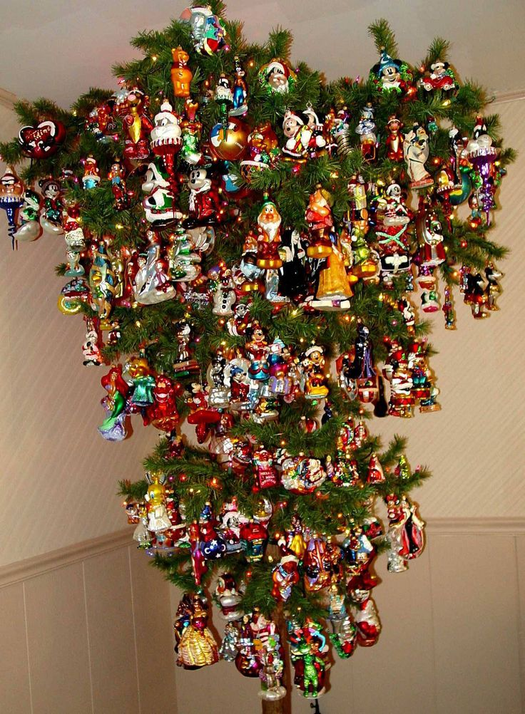 Cristhmas Tree Decorations Ideas Hanging Upside Down Christmas