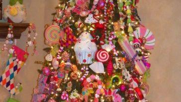Cristhmas Tree Decorations Ideas : Sweet Treats Christmas Tree