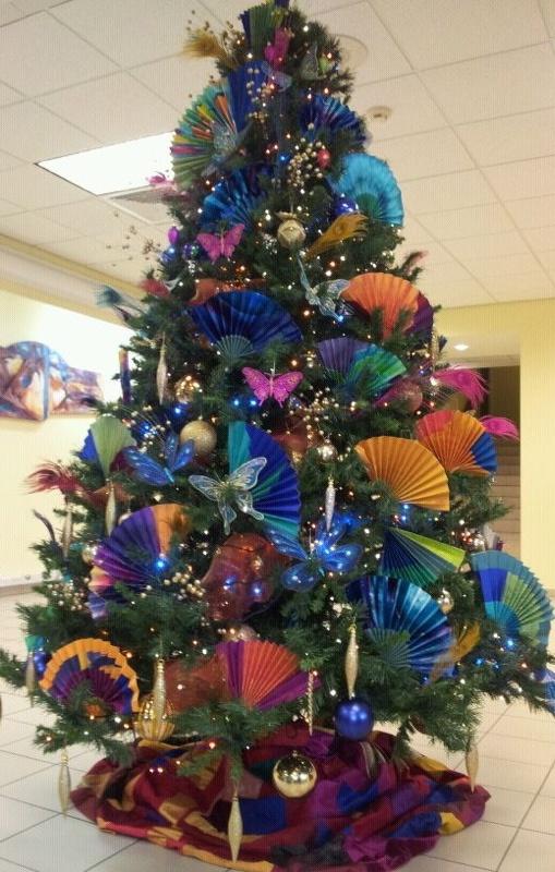 Colorful Christmas Tree Ideas.Cristhmas Tree Decorations Ideas Colorful Christmas Tree